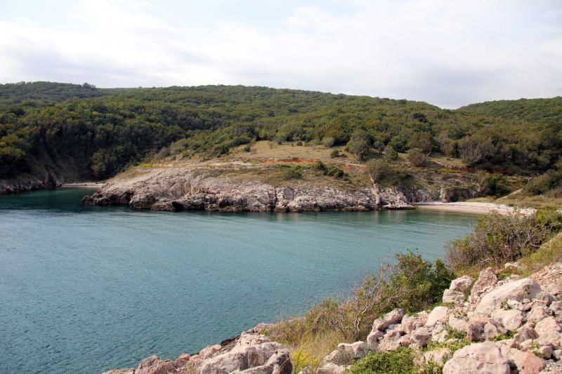 Plaže Vrbnik - plaža Mala Javna - Risika