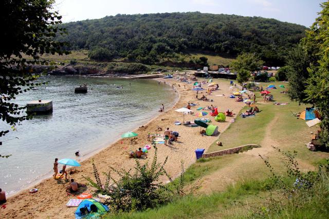 Plaže Vrbnik - plaža sv. Marek - Risika