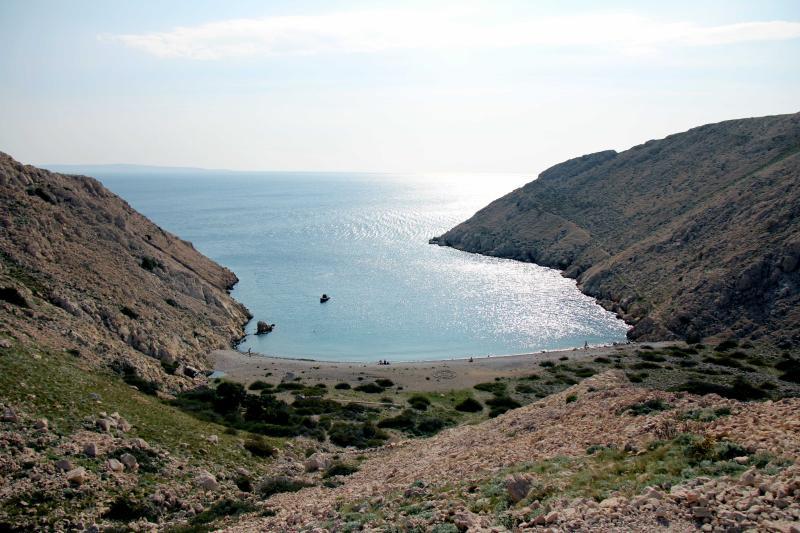 Plaže Baška - Uvala Vela Draga