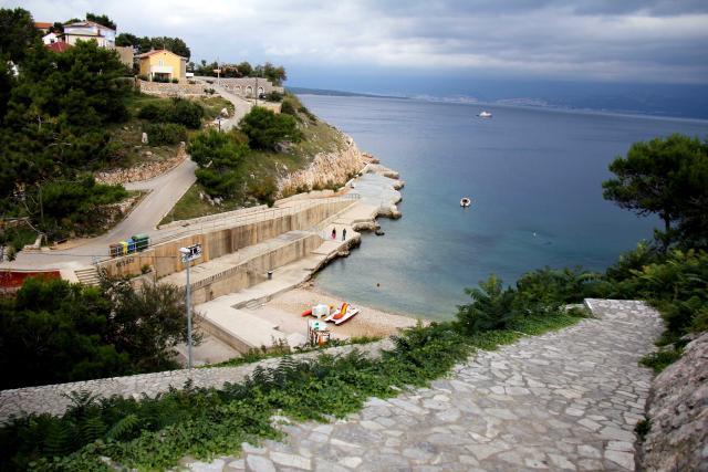 Plaže Vrbnik - plaža Zgribnica