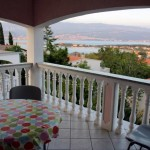Apartmani Bartol - pogled sa terase
