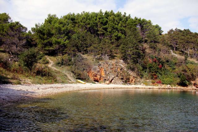Plaže Vrbnik - plaža Nuluk