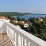 Vila Lavanda Omišalj - pogled sa terase
