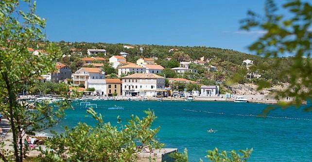 Plaža i grad Šilo - Apartmani Krk